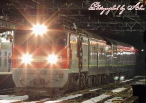 9562レ(=EF510-20牽引+EF81-43ムド+トワイライト客車(10両))