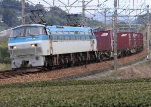 5071レ(=EF66-107牽引)
