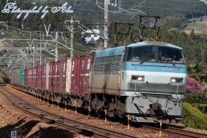 5052レ(=EF66-115牽引)