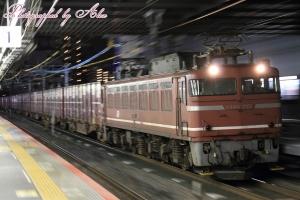 3093レ(=EF81-715牽引)