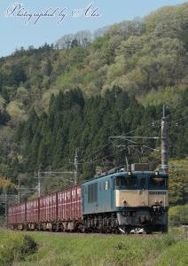 3088レ(=EF64-1014牽引)