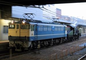 単9927レ(=EF65-1135+C56-160)