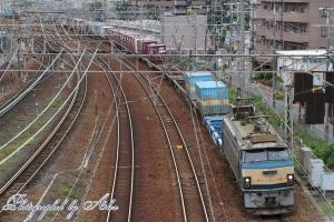 86レ(=EF66-30牽引)