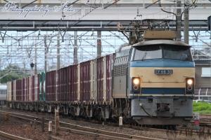 3077レ(=EF66-30牽引)