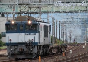 9863レ(=EF64-1036牽引)