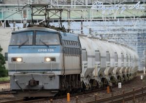 5767レ(=EF66-126牽引)