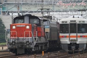 1353レ(=DD51-889+EF66-21牽引)