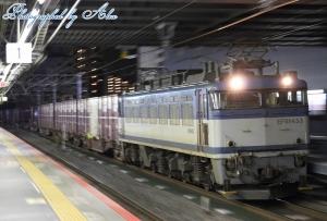 3093レ(=EF81-453牽引)