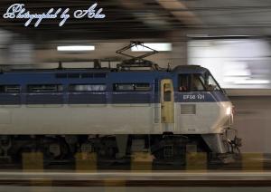 5088レ(=EF66-101牽引)