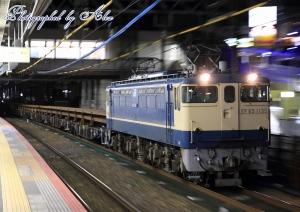 工8381レ(=EF65-1135牽引)