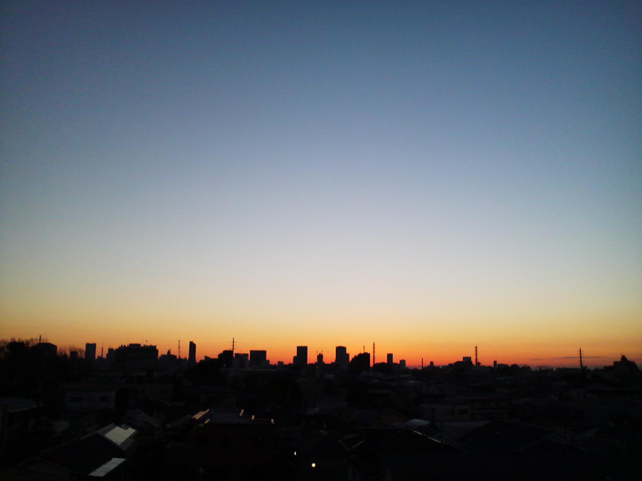 朝焼け2015
