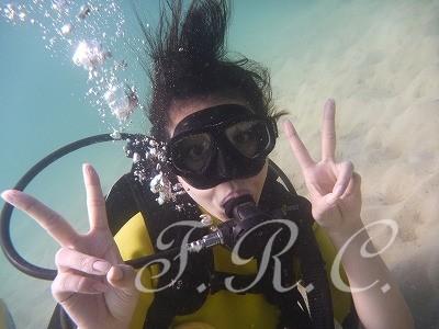 カタビーチ体験ダイビング