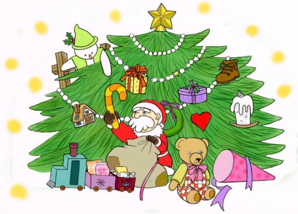 クリスマスの支度4