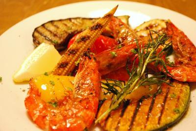 小海老と夏野菜のグリル_convert_20150703175135