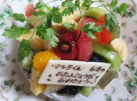 7)バースデーケーキ