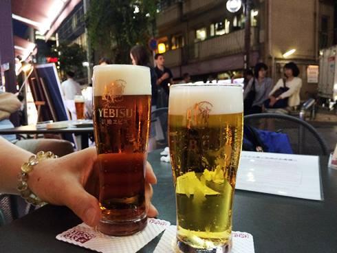 3)またまたビール
