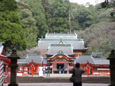 2015霧島神宮拝殿