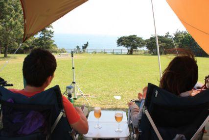 2015GW潮岬キャンプビールでまったり