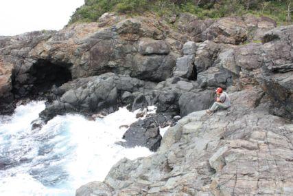 2015GW潮岬キャンプ磯ひとし2