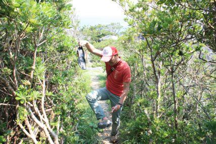 2015GW潮岬キャンプ磯ひとし靴底とれる