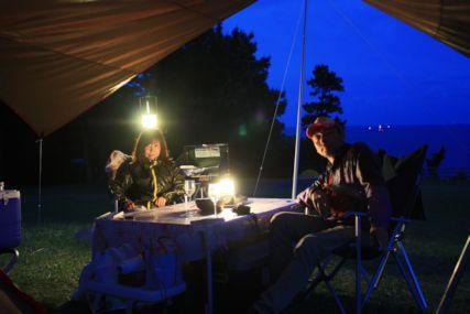 2015GW潮岬キャンプ夜ふたり