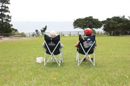 2015潮岬キャンプさいご二人