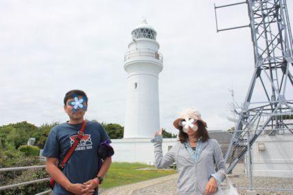 2015潮岬灯台ふたり