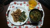 生姜焼き風
