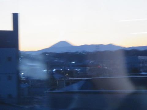 シルエット富士o11