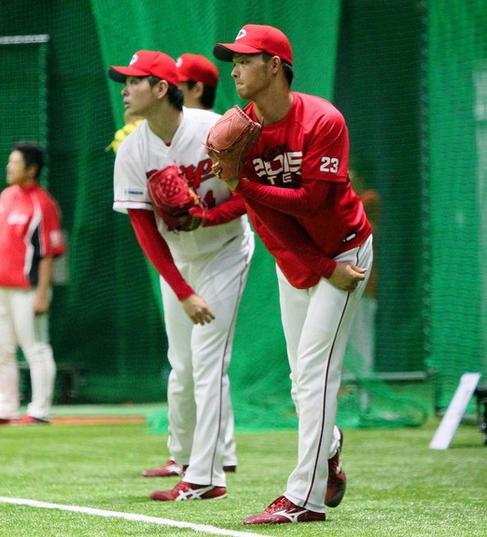 【カープ】薮田が1軍合流、谷間で先発デビューへ