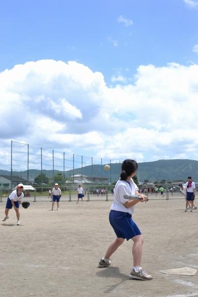 【体育】で野球とかソフトボールってあるけど