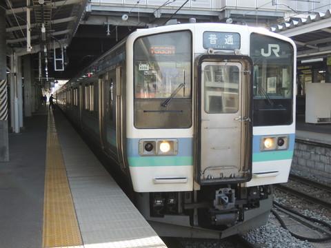JR東日本長野発甲府行434M列車(211系)