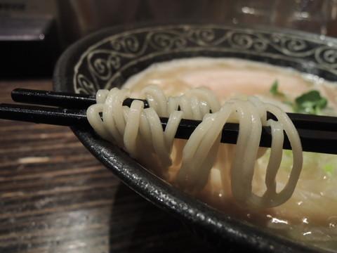 鶏塩らーめんの麺