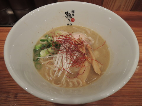 鶏白湯ラーメン(750円)