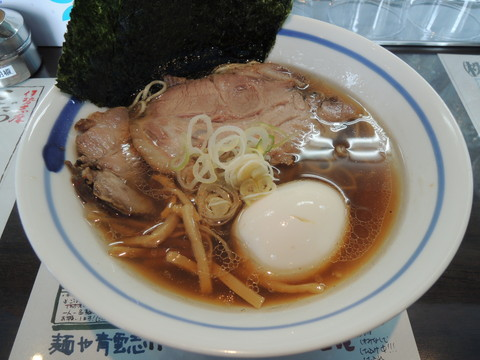 極み正油らぁ麺(980円)