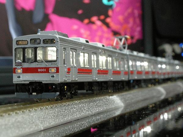東急9000系9001F(HM・急行灯付き)