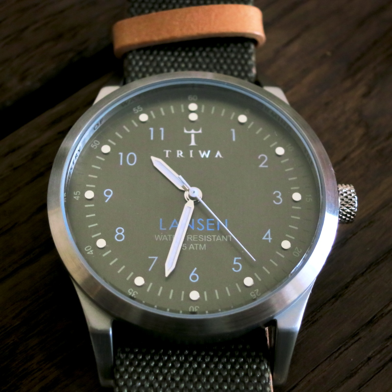 TRIWA WATCH LANSEN PARTISAN