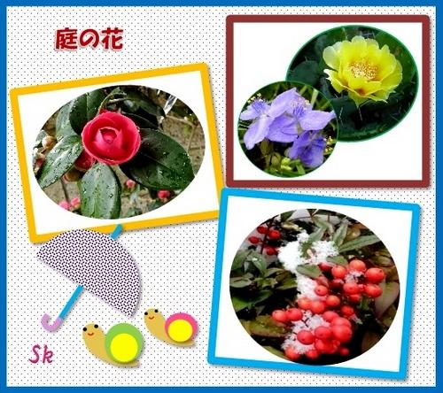 スクラップブック庭の花S