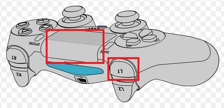PS4タッチパネル