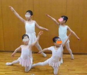 バレエ発表会プログラム写真2015