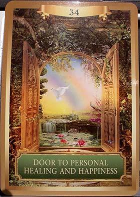 扉が開くのね
