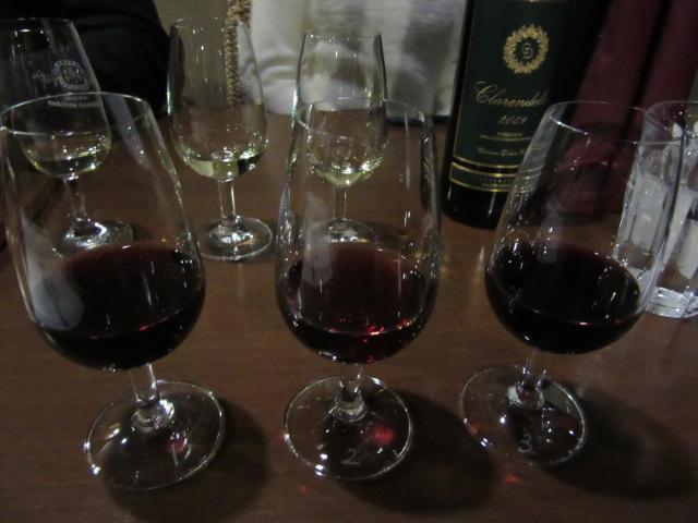 ブラインド赤ワイン3種-1