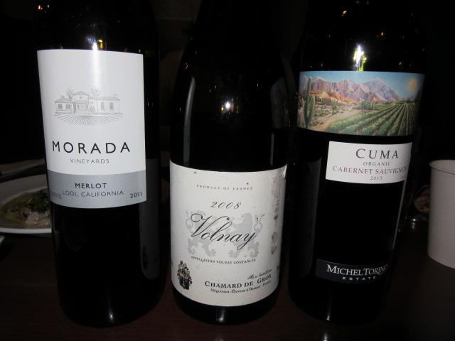 ブラインド赤ワイン3種-2