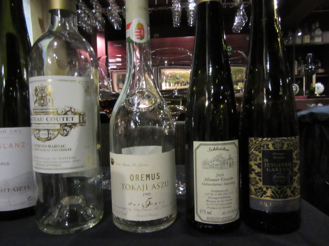 デザートワイン4種