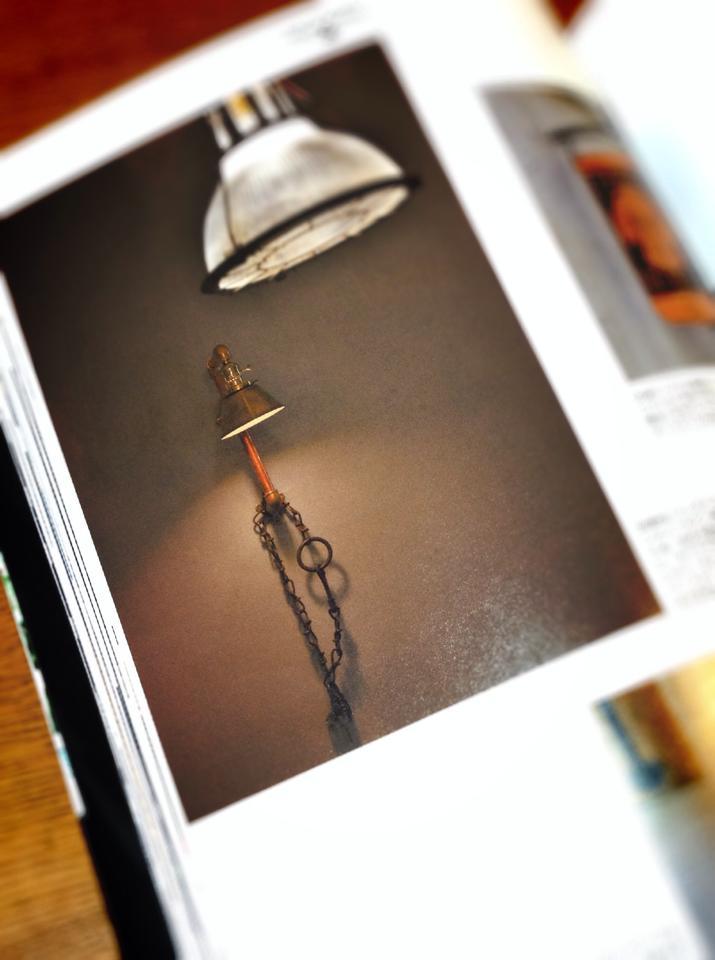 枻(えい)出版 インダストリアルスタイル 工業系照明 店舗設計 スチームパンク ランプ ライト