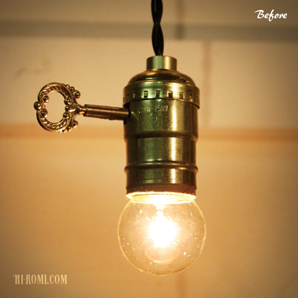 ヴィンテージ照明 設置 店舗設計 カスタムライト ソケットライト ランプ 神戸 関西 Hi-Romi.com(ハイロミドットコム)