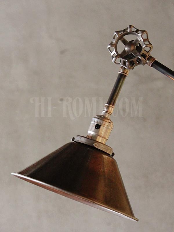 バルブ 角度調整付き 工業系 ブラケット インダストリアル 照明 ウォールランプ