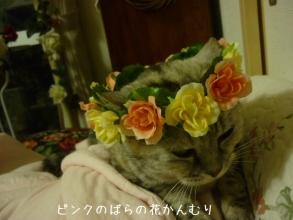 」ピンクの花冠