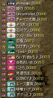 夢列車vsエンジェル 集まり2
