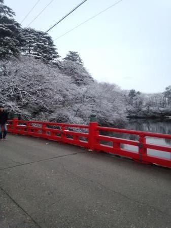 神社参道入口